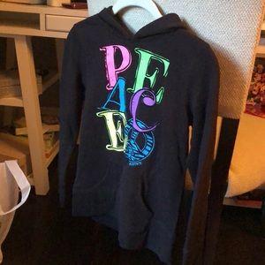 NWOT justice sweatshirt